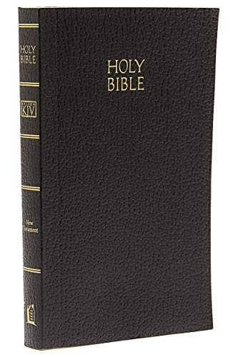 9780840717757: KJV, Vest Pocket New Testament, Softcover, Black, Red Letter Version