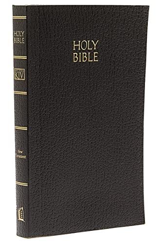 9780840717757: KJV Vest Pocket New Testament: Holy Bible; Black Leather; Vest Pocket; Red Letter Edition