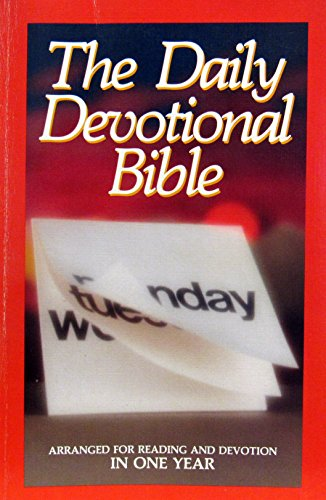 9780840718457: Daily Devotional: KJV With Daily Devotions : Containing the Complete Bible Arranged for Reading and Devotion in One Year