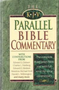 9780840718488: The King James Version Parallel Bible Commentary