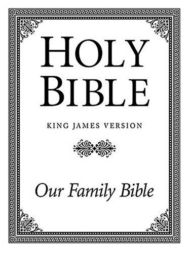 9780840718853: Holy Bible: Family Altar Edition (King James Version)