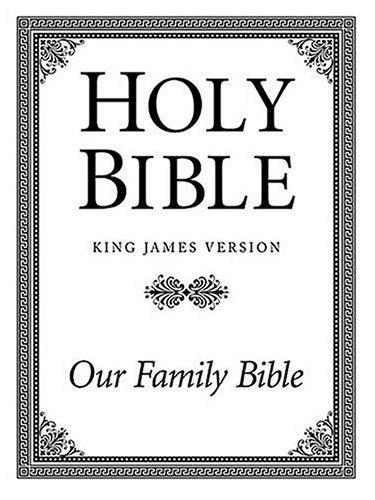 9780840718853: Family Altar Bible-KJV-Large Print