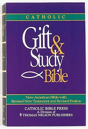 9780840719195: Catholic Gift And Study Bible (NAB)