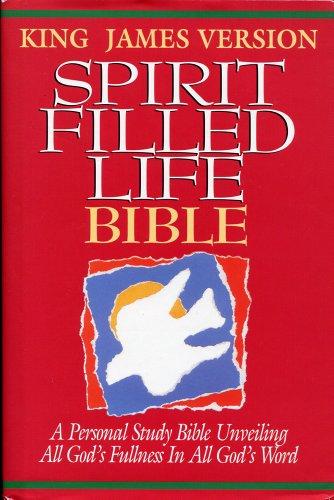 9780840720504: Holy Bible: Spirit Filled Life Bible, King James Version, White (Style No 1352/White)