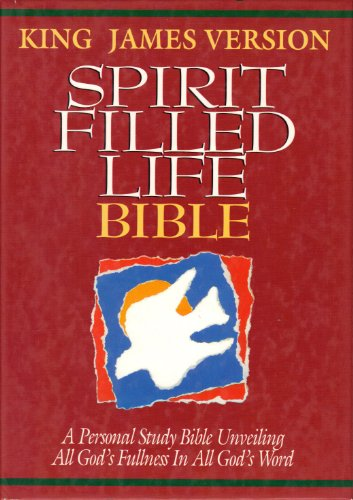 9780840720528: Holy Bible: Spirit Filled Life Bible, King James Version (Style No 1355-Black)