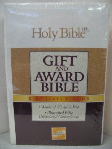9780840726872: Gift and Award Bible KJV-Regency 162MW (White)