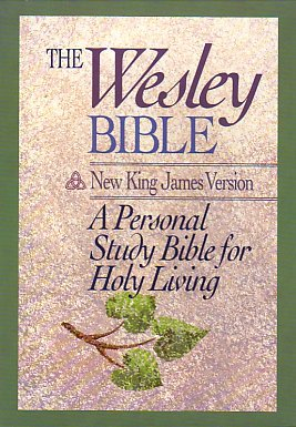 9780840727374: Holy Bible: The Wesley, New King James Version, Burgundy Bonded Leather