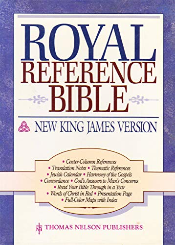 9780840727756: Holy Bible Royal Reference: New King James Version/Black Bonded Leather