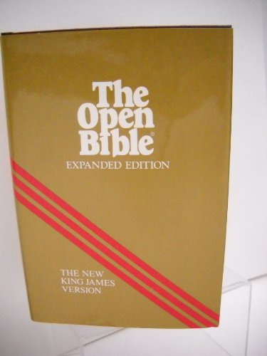 Holy Bible: Open Bible, New King James: Creator-Thomas Nelson Publishers