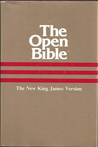 Holy Bible: Open Bible, New King James Version: Creator-Thomas Nelson Publishers
