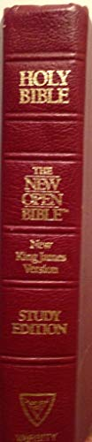 9780840728647: Holy Bible: Open Bible, New King James Version, Burgundy Genuine Leather
