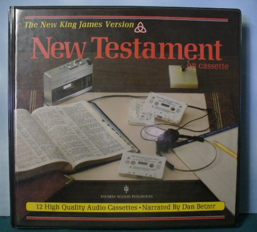 9780840729132: The New King James Version New Testament on Cassette (12 Cassettes)