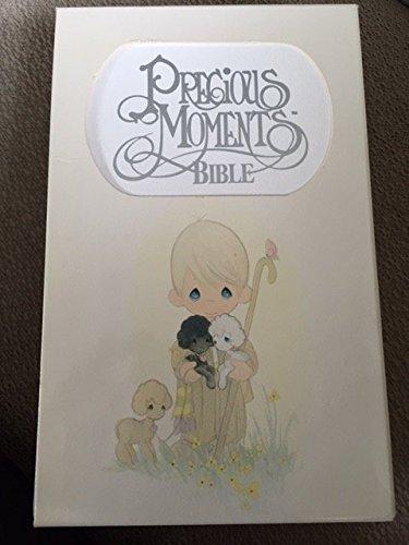 9780840729330: Precious Moments Bible, Child's New King James Version (271v): Violet-Mist Leatherflex