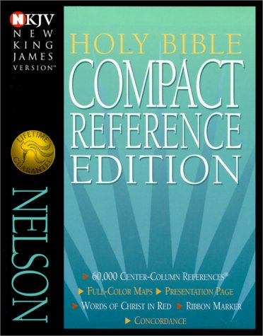 9780840729606: Holy Bible New King James Version Compact Reference: Burgundy Genuine Leather