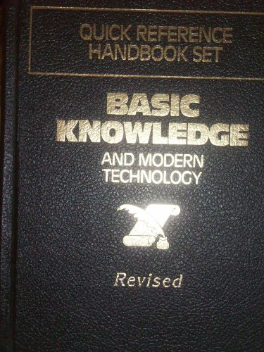 9780840730381: Basic Knowledge and Modern Technology (Quick Reference Handbook Set)