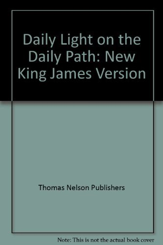 9780840730404: Daily Light on the Daily Path: New King James Version