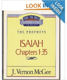 9780840732736: Thru the Bible Commentary Isaiah Chapters 1-35