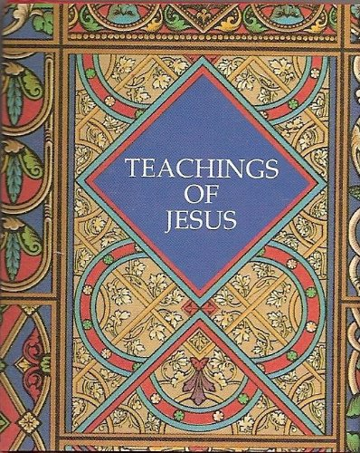 Teachings of Jesus: Inc. Thomas Nelson