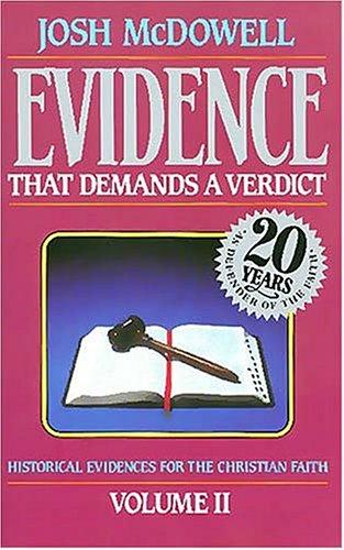 9780840743794: Evidence That Demands A Verdict Vol. 2