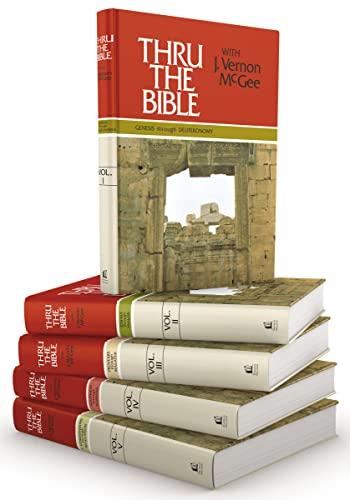 Genesis through Revelation (Thru the Bible 5 Volume Set): J. Vernon McGee