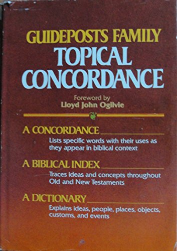 9780840749628: The Guideposts Family Topical Concordance to the Bible