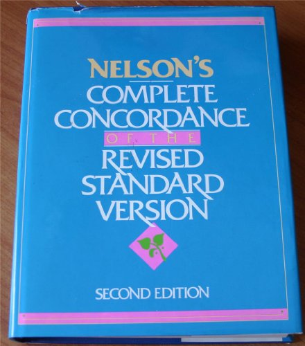 9780840750150: Nelson's Complete Concordance of the Revised Standard Version