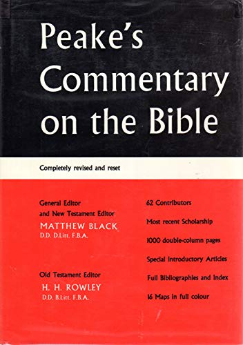 9780840750198: Peake's Commentary on the Bible