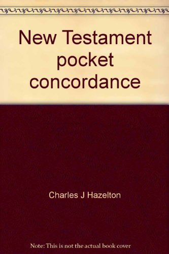 9780840756916: New Testament pocket concordance