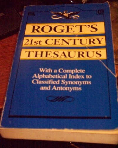 9780840768308: Roget's 21st Century Thesaurus