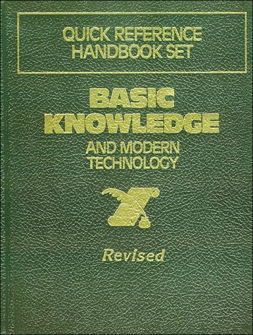 9780840768445: Basic Knowledge and Modern Technology Guick Reference Handbook Set. Revised Edition