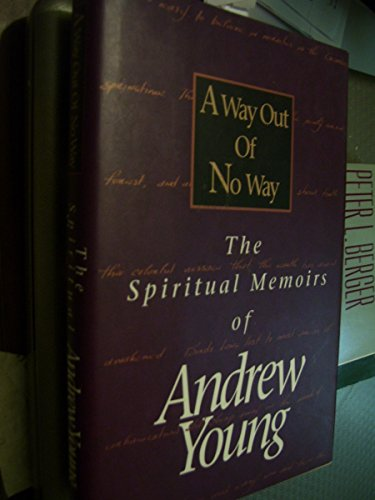 9780840769985: A Way Out of No Way: The Spiritual Memoirs of Andrew Young