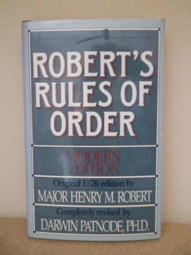 9780840771841: Robert's Rules of Order