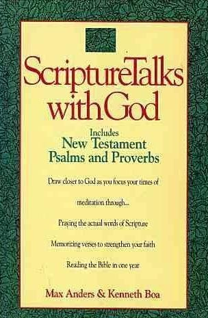 9780840771971: ScriptureTalks With God and the New King James Version of the New Testament, Psalms, and Proverbs