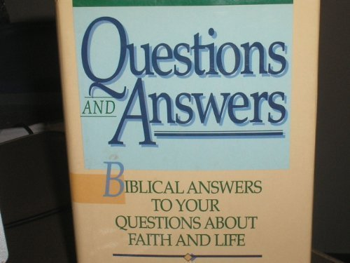 Questions and Answers (0840775806) by J. Vernon McGee