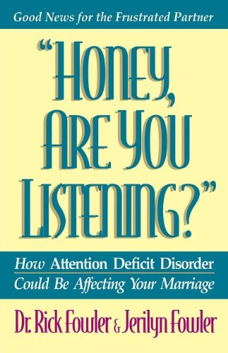 Honey, Are You Listening? (Minirth Meier New: Fowler, Rick; Fowler,