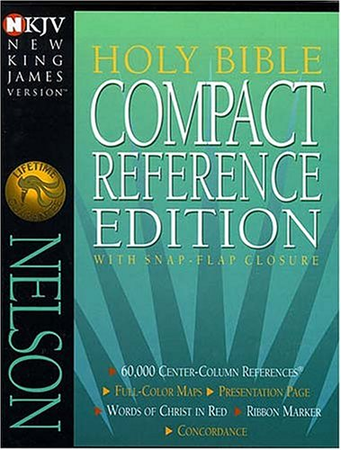 9780840783288: Holy Bible Compact Reference Edition with Snap-Flap Closure NKJV (New King James Version)
