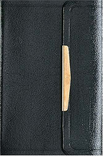 The Smallest Bible (NKJV, Black, Snap Flap Closing): Thomas Nelson