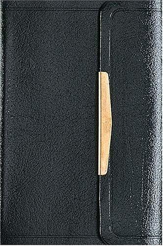 9780840784469: The Smallest Bible (NKJV, Black, Snap Flap Closing)