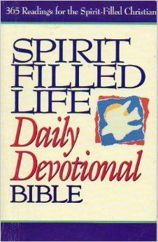 9780840785107: Spirit Filled Life Daily Devotional Bible: New King James Version