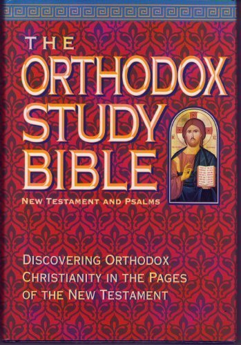 9780840785237: The Orthodox Study Bible: New Testament and Psalms