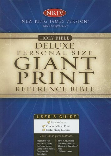 9780840785367: Reference Bible: New King James Version, Bonded Leather, Burgundy Personal Size, Giant Print, Indexed