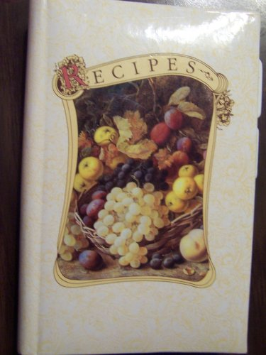9780840788917: Recipes (An easy journal to collect your special recipes)