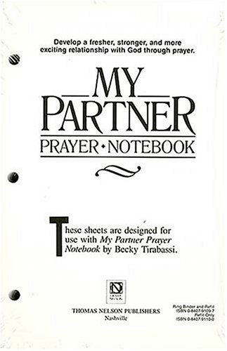 My Partner Prayer Notebook: Tirabassi, Becky