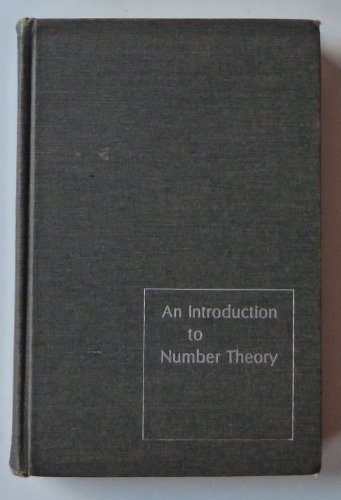 9780841010147: An introduction to number theory (Markham mathematics series)
