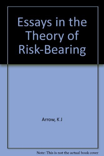9780841020016: Essays in the Theory of Risk-Bearing (Markham Economics Series)