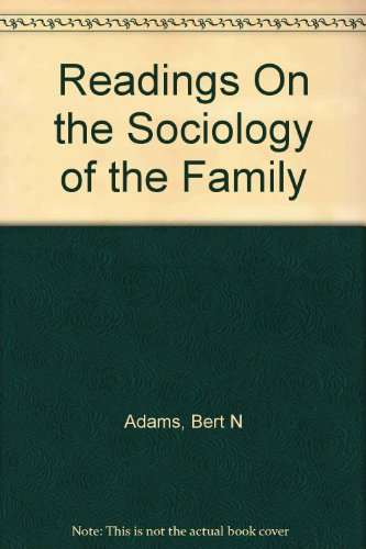 9780841040243: Readings On the Sociology of the Family