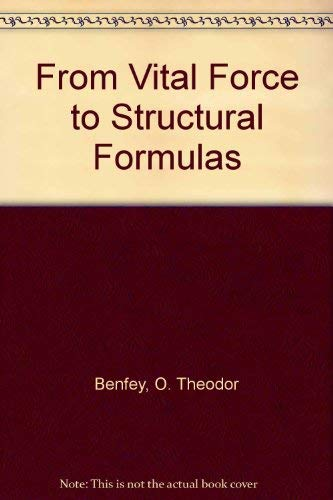 9780841202733: From Vital Force to Structural Formulas