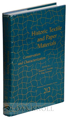 9780841209008: Historic Textile and Paper Materials: Conservation and Characterization (Advances in Chemistry Series)