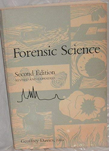 9780841209190: Forensic Science (An American Chemical Society Publication)