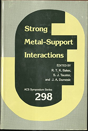 9780841209558: Strong Metal-Support Interactions (Acs Symposium Series)
